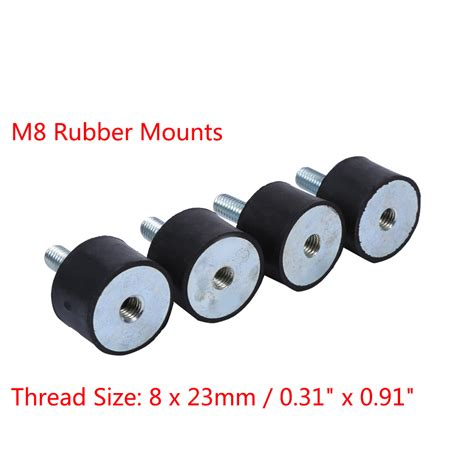 boat motor vibration 4x gasoline engine car boat bobbin m8 rubber shock anti