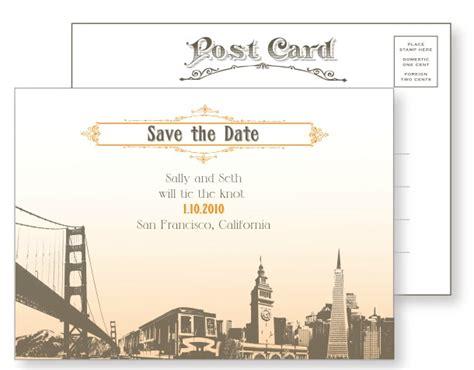 vintage san francisco wedding invitations sf landscape vintage postcards luxury wedding invitation designs invitation story