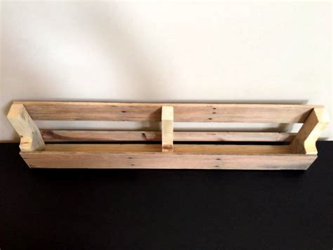 rustic wood wall shelves recycled wooden pallet wall shelves pallet furniture diy