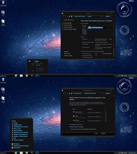 expo themes for windows 8 1 windows 8 and 8 1 theme andromeda by themes4you on deviantart
