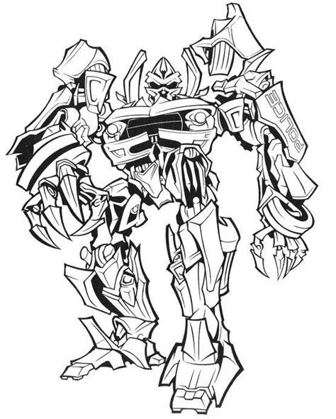 dibujos para pintar transformers transformers dibujos para imprimir colorear o pintar