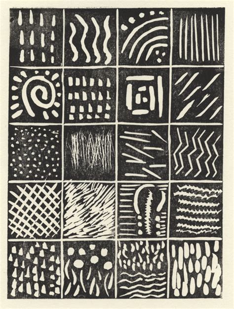 pattern making in art mark making lino prints pinterest clay art and prints