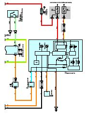 toyota kluger highlander wiring diagram and electrical