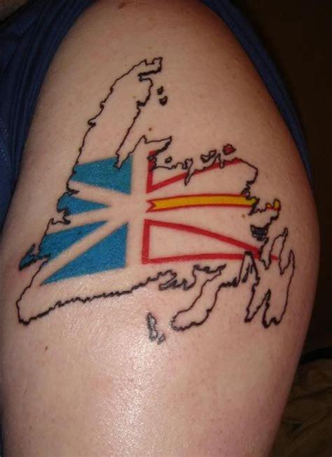 tattoo garage best 25 newfoundland flag ideas on cabot