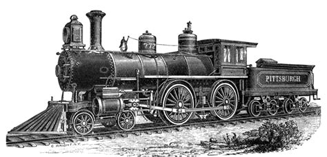 steam engine train side view drawing www pixshark com