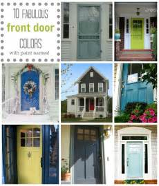 Home Decor Blog Names Front Door Colors A Pop Of Pretty Blog Canadian Home