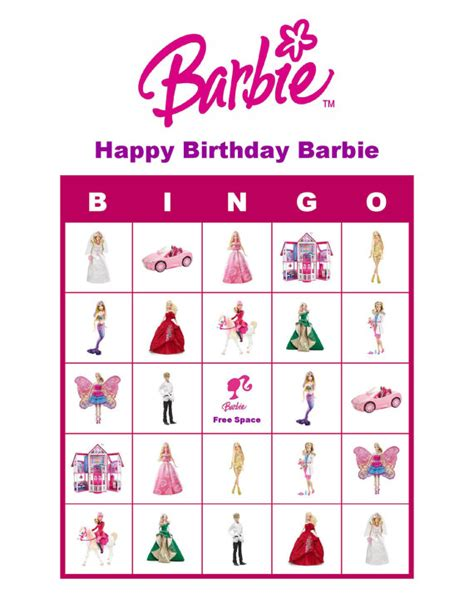 barbie printable board games barbie doll personalized birthday party game by trulybilleve