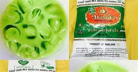 Pasaran Teh Hijau Thailand business milk green tea thailand
