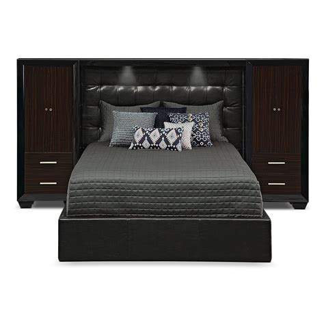 bed set    today serenity king wall bed  piers  city furniture
