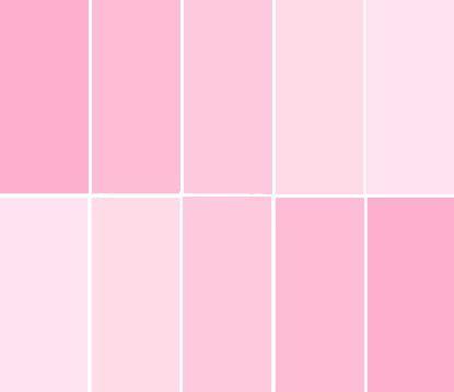 light pink color palette 519 best pink