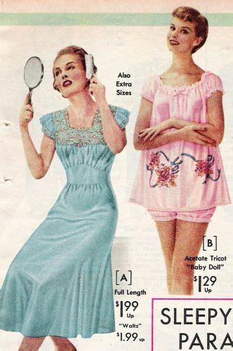 You Ve Andrea Lace Sleepwear 48 best 1950s sleepwear images on vanity fair