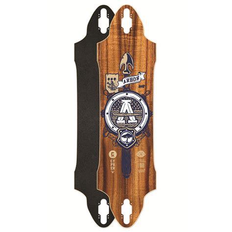 longboards decks arbor cypher 38 longboard deck evo outlet