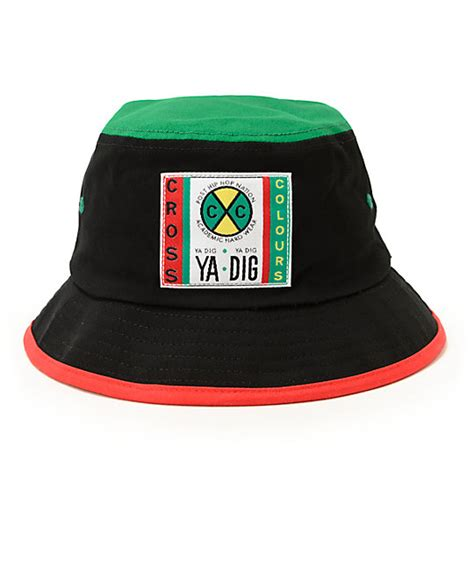 cross color cross colours color block hat zumiez