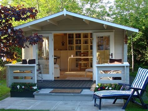 home dzine home office turn a garden shed into a home office