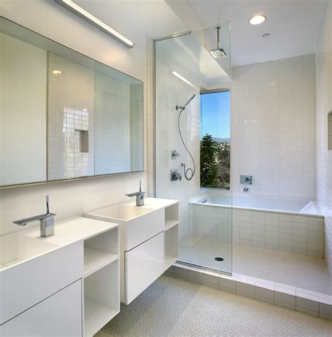 modern aesthetic bathroom interior design of the