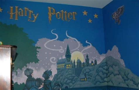 harry potter wall murals best painted murals in kid rooms geeksraisinggeeks