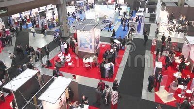 tech shows every industry how retraining is the new recruiting people visit smau stock footage video 48854682