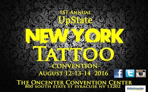 tattoo convention syracuse ny upstate new york tattoo convention the oncenter