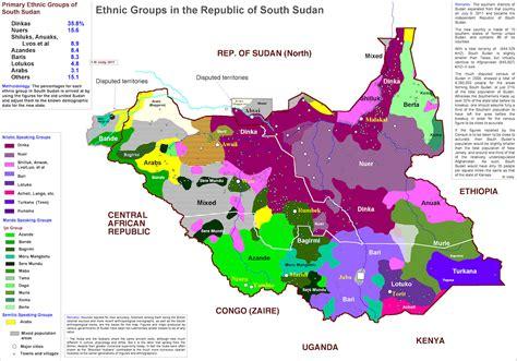south sudan map south sudan maps