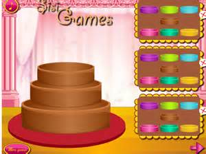 barbie wedding cake cooking games images
