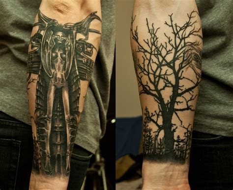 r d tattoo h r giger by janels on deviantart