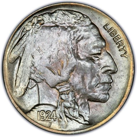 1924 buffalo nickel values and prices past sales coinvalues com
