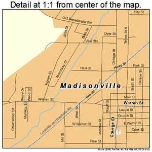 madisonville tennessee map 4745320