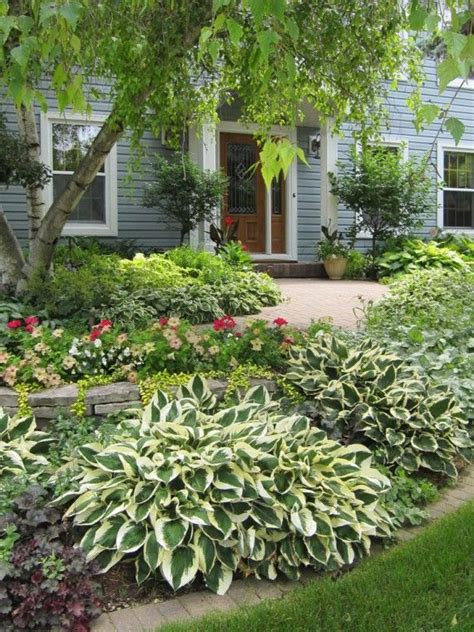 Landscape Ideas With Hostas Landscaping Front Yard Landscaping Ideas With Hostas