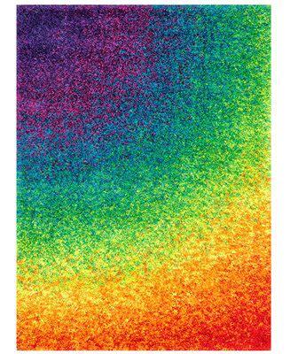 loloi rugs barcelona shag bs01 rainbow rugs macy s