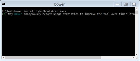 installing bootstrap using bower set up bootstrap scss in project using bower tutorial savvy