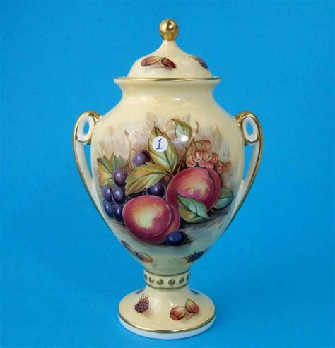 Aynsley Orchard Gold Vase by Aynsley Orchard Gold Choose Lidded Vase Butter Dish