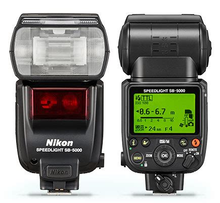 nikon sb 5000 radio controlled flash speedlight flash from nikon