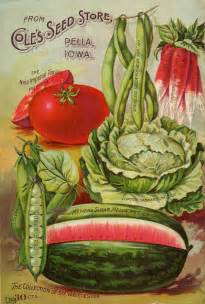 vegetable garden catalogs vintage seed catalog vintage seed packets