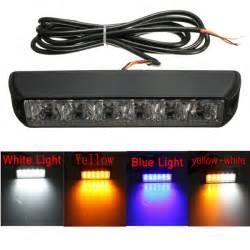 strobe light bar for trucks 6 led warning beacon emergency car truck strobe flash