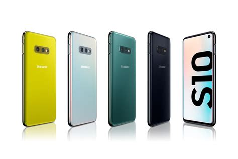 the galaxy s10e s10 and s10 release is today which color are you getting phonearena