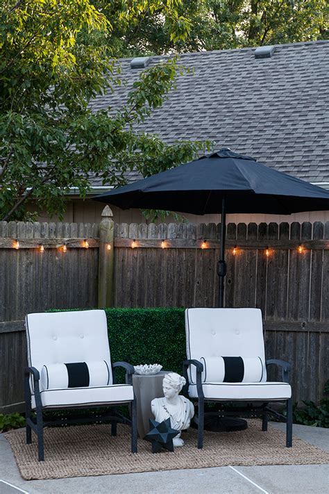 Backyard Staycations by Creating An Outdoor Oasis In An Afternoon The Makerista