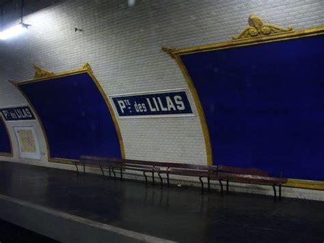 metro porte des lilas 90 best images about stations fant 244 mes du m 233 tro parisien