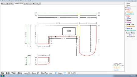 Laser Products Updates Countertop Templator Software Countertop Template Software
