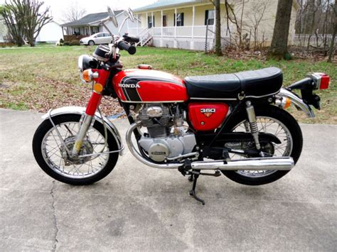 1973 honda cb350 cb 350 original low mileage motorcycle original survivor 1973 honda cb350 only 1900