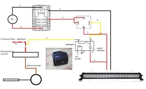 relay diagram for light bar image collections how to
