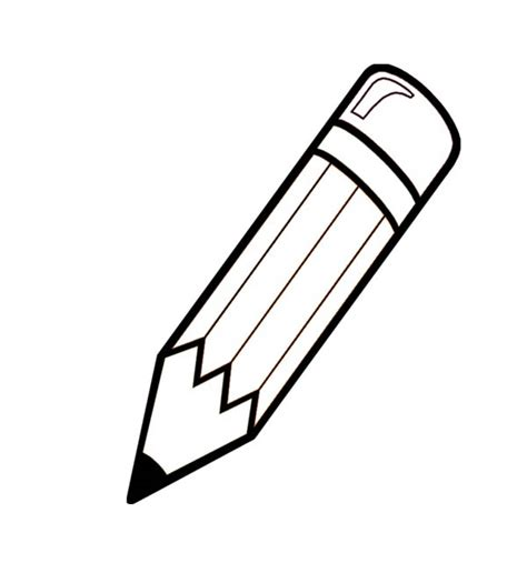 pencil coloring page pencil coloring pages getcoloringpages