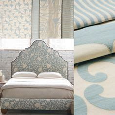 patterned upholstered headboard 1000 images about interior decorating with shades of blue