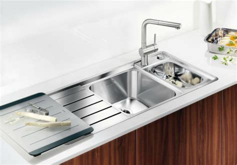 sink with built in drainboard 5 drainboard kitchen sinks you ll love
