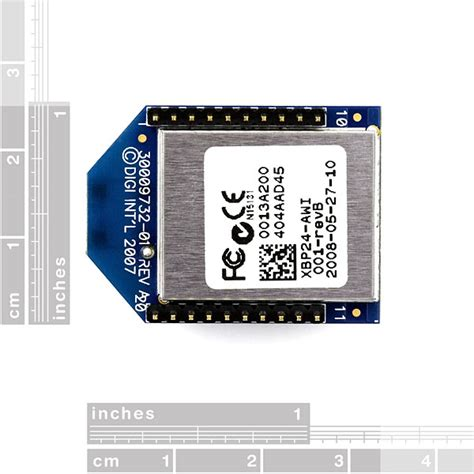 Xbee Pro Zigbee Modules 24ghz Xbp24 Awi 001 xbee pro 60mw wire antenna series 1 802 15 4
