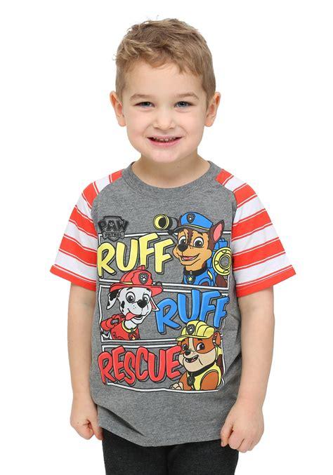 toddler boys paw patrol ruff ruff rescue toddler boys t shirt