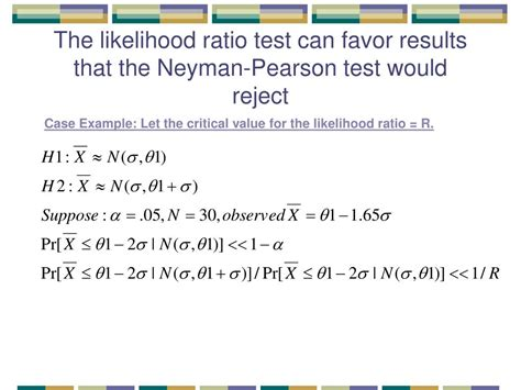 likelihood ratio test ppt linkage analysis an application of the likelihood