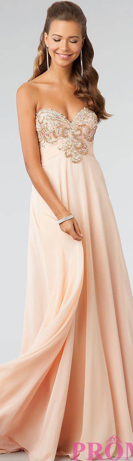 light peach dress light peach prom dress dresses i adore pinterest