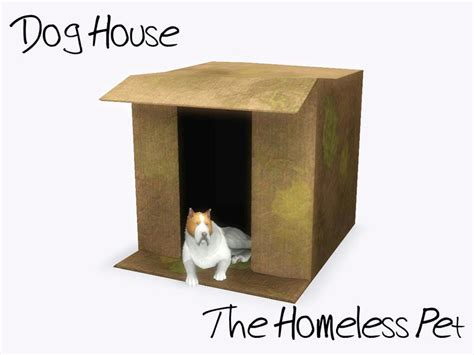 dog house cardboard sim man123 s cardboard box dog house