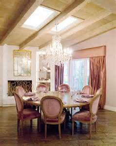 Used Dining Room Sets home tour kyle richards real housewives of beverly