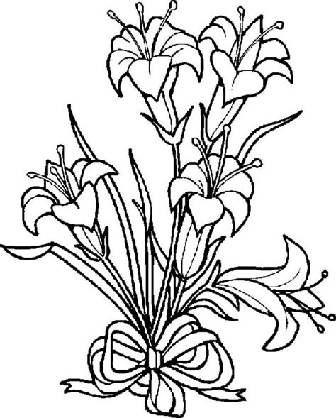 Coloring Now 187 Blog Archive 187 Flower Coloring Pages Colouring Pages Of Flowers